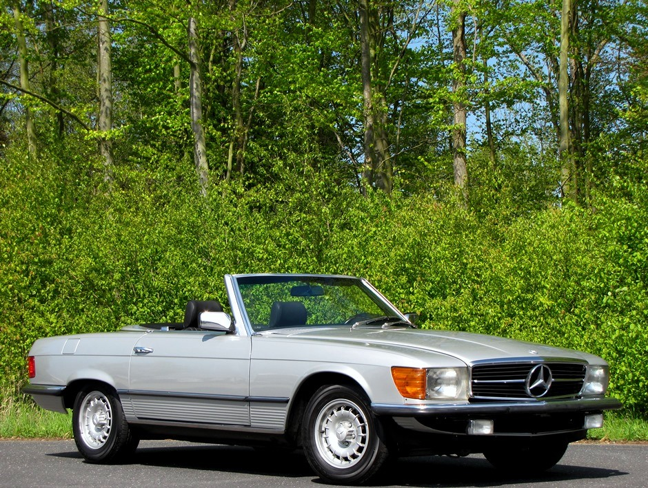 1985 mercedes 280 sl cabrio for sale car special. Black Bedroom Furniture Sets. Home Design Ideas