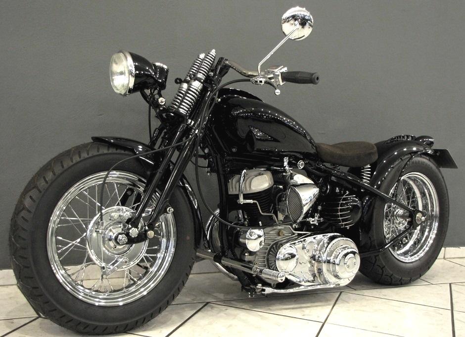 Rarität – 1949 Harley Davidson WL 750 Flathead – Bobber – FOR SALE ...